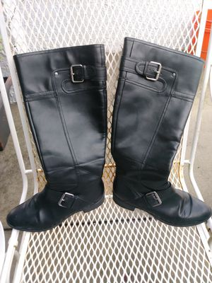 Nina West Leather Boots for Sale in Clearwater, FL