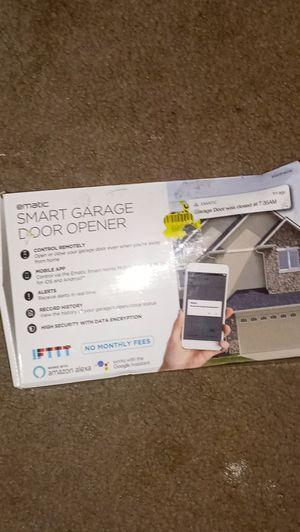 Ematic Smart Garage Door Opener for Sale in Richwood, TX