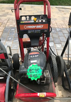 TROY BUILT PRESSURE WASHER for Sale in Dallas, TX