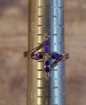 Amethyst Silver Size 7 for Sale in Gainesville, VA
