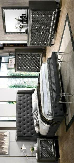 🌺Giovani Dark Gray Panel Bedroom Set for Sale in Silver Spring, MD