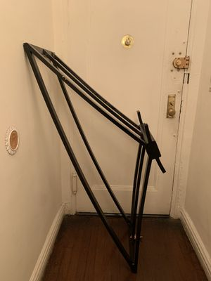 Metal Table Frame(w GLASS)-TV Stand/Side Table for Sale in Queens, NY