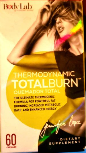 "Body Lab ""JLo"" thermodynamic total burn supplement for Sale in Charlotte, MI"