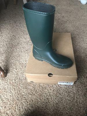UGG size 10 olive rain boots for Sale in Spokane, WA