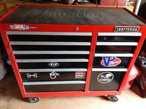 Craftsman 10 drawer tool box for Sale in Madison Heights, VA