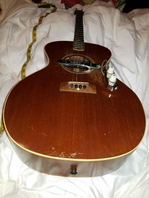 """""""The Gibson"""" TG-0 Tenor Guitar 1927-30 Mahogany with a Kent WC-18 pick up for Sale in Alexandria, VA"""