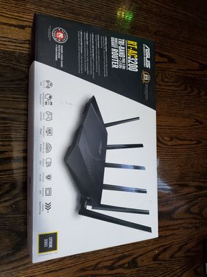Asus gigabit tri-band RT-AC3200 router for Sale in Boston, MA