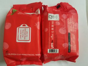 4 Packs Yes To Tomatoes Blemish Acne Clearing Facial Face Wipes Exp 6/2020 for Sale in Jacksonville, FL