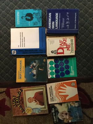 Sign Language Books/ Interpreting for Sale in Toledo, OH