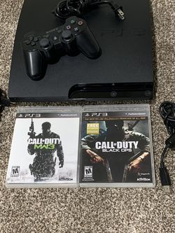 PlayStation 3 With Call Of Duty Games And One Controller for Sale in Dublin,  OH
