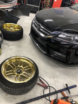 MST Suzuka Gold PVD Wheels 18x9.5 for Sale in West Covina, CA