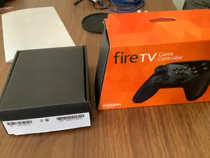 Amazon Fire Stick (3rd gen) and fire tv game controller. for Sale in Kent, WA