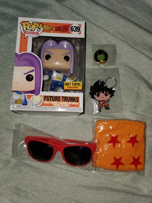 Dragon ball z future trunks funko for Sale in San Jose, CA