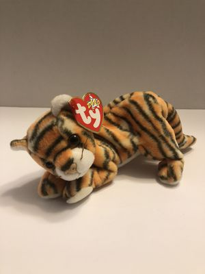 """TY Beanie Baby India the Tiger King Cat 9"""" New 2000 Mint Condition for Sale in Anaheim, CA"""