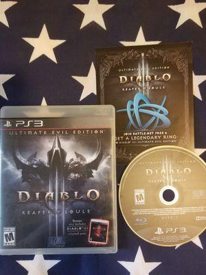 Diablo 3 (PS3) for Sale in US