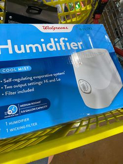 Cool Mist Humidifier .8 Gallon for Sale in Garland,  TX