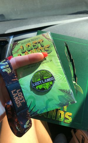 unregistered VIP lost lands wristband 2018 for Sale in Scottsdale, AZ