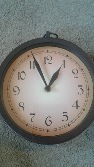 2 sided country clock for Sale in Wimauma, FL