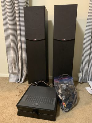 Yamaha Receiver + Polk audio speakers for Sale in Rockville, MD