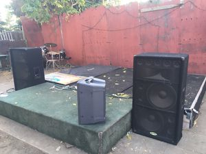 DJ speakers and audio equipment for Sale in Los Angeles, CA