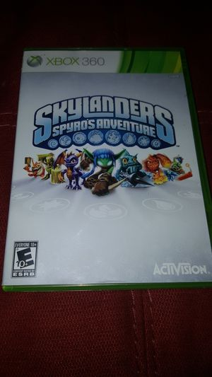 2 Skylanders Games w/ Portal of Power Platform XBOX 360 for Sale in Tulsa, OK