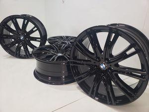 "20"" Bmw 540i 530i G30 black wheels for Sale in Solana Beach, CA"