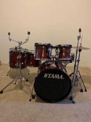 6 piece TAMA DRUM 🥁 Set !!! GREAT Condition ✨ for Sale in Atlanta, GA