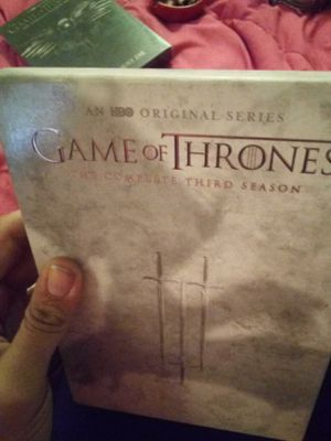 Game Of Thrones Season 3 for Sale in Davenport, IA