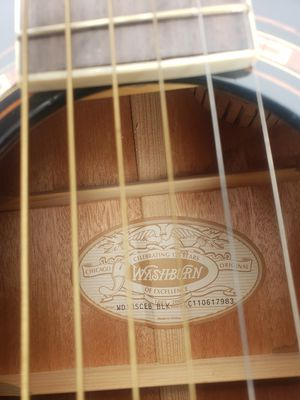 Washburne acoustic/electric cutaway dreadnought guitar for Sale in Bellefonte, PA