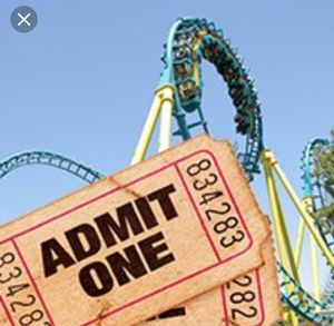 Six flags season and daily passes for Sale in Fort Worth, TX