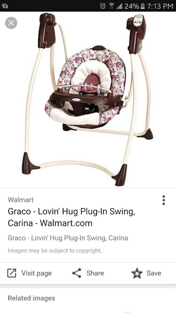 Graco Plug In Swing For Sale In Lakeside Ca Offerup