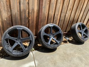 Giovanna 22inch rims for Sale in Fresno, CA