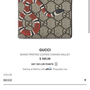 Gucci Wallet ( Real ) for Sale in Spring, TX