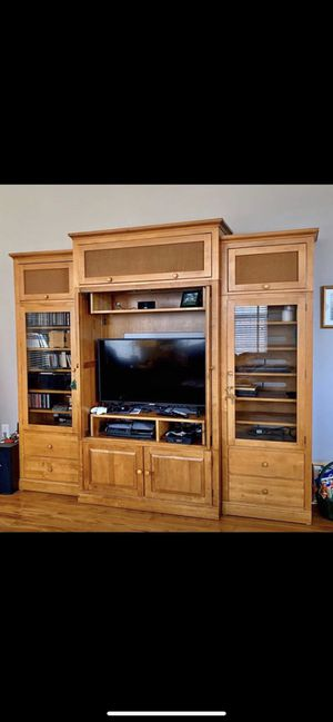 Ethan Allen Entertainment Center for Sale in Leesburg, VA