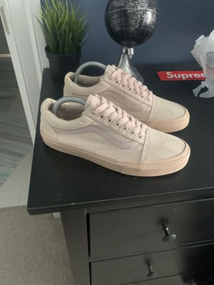 Vans old Skool pink/peach size 9 men's good condition for Sale in South Riding, VA