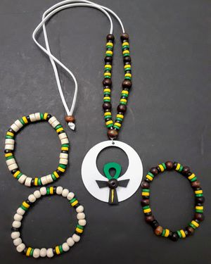 Egyptian Necklace Set for Sale in Riverview, FL