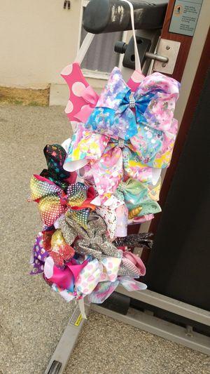Jojo siwa bows for Sale in La Puente, CA