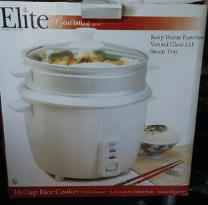 rice cooker with steamer for Sale in San Dimas, CA