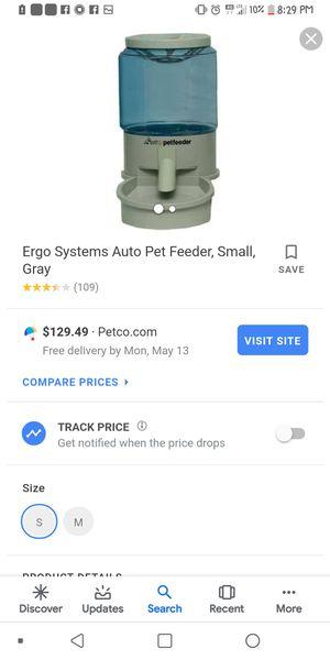 Ergo systems digital auto pet feeder for Sale in Chippewa Falls, WI