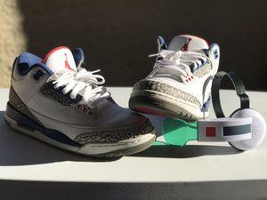 Air Jordan Retro 3 True Blue for Sale in Dallas, TX