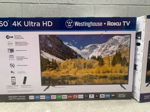 WESTINGHOUSE 50 INCH ROKU SMART TV HD 4K for Sale in Anaheim, CA