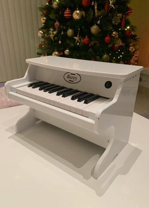 NEW IN BOX $40 Each Berry Real 25 Keys Miniature Wood Piano 16x10x12 Inches Tall Red White Or Black Color Age 3 and up Toy for Sale in Los Angeles, CA