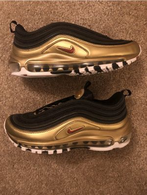 air max 97 black metallic gold for Sale in Albany, GA