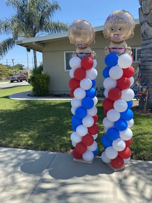 Gender reveal balloons for Sale in Whittier, CA