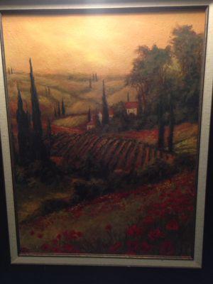 TUSCAN FIELDS ARTWORK BY ART FRONCKOWIAK for Sale in Jersey City, NJ