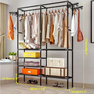 NEW Closet Storage Clothes Hanger Shoe rack for Home Bedroom Dry Shelf Dressing room Clothes Shop for Sale in Las Vegas, NV