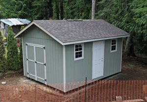 12x16 Deluxe Storage Shed with WARRANTY for Sale in Puyallup, WA