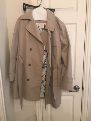 Loft Raincoat Trench Coat Women's 14 for Sale in Keller, TX