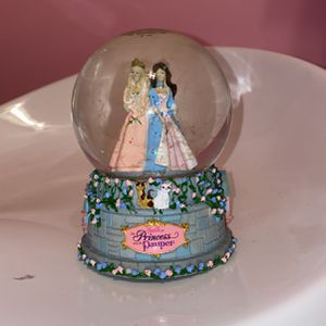 Princess And The Pauper Barbie Snow Globe for Sale in Austell, GA