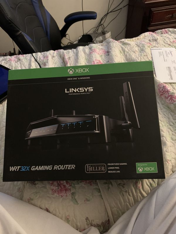 Router designed for gaming